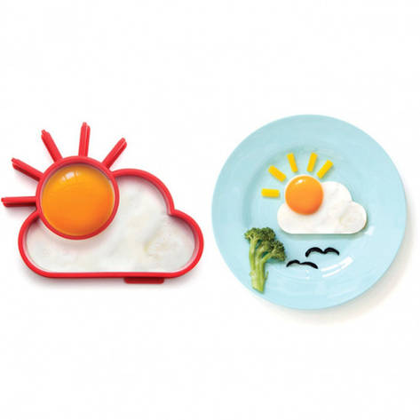 Форма для жарки яиц солнце за тучкой, фото 2