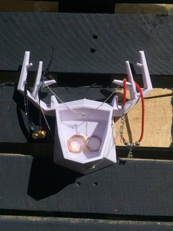 Настенный держатель для аксессуаров Deer White, фото 2