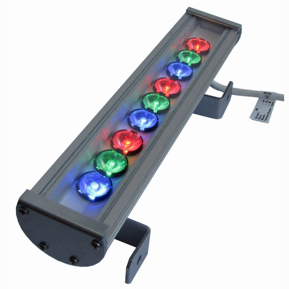Лінійний світлодіодний прожектор LS Line-3-65-09-C RGB-IP65 345мм (09С) RGB
