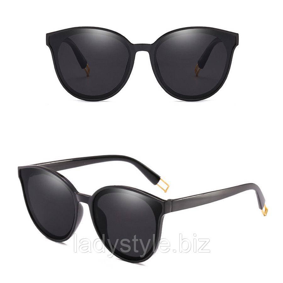 Очки солнцезащитные  черные от студии LadyStyle.Biz