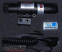 Лазерный прицел с креплением под планку Weaver (красный луч)
