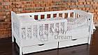 Подростковая кровать Ассоль с бортиком 70*160 ваниль, фото 2