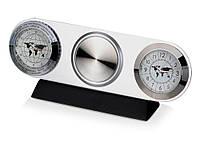 Часы настольные «Ист-Вест», серебристый (102500_OS)