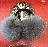 Меховые резиночки для волос, фото 1