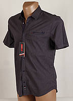 Рубашка мужская клетка Arma 1400 Размеры M/46 L/48