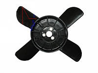 Крыльчатка вентилятора 4-лопастная (черная) ВАЗ