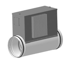 Воздухонагреватель канальный электрический ССК ТМ C-EVN-K - S1 (S2) - 315 - 12,0