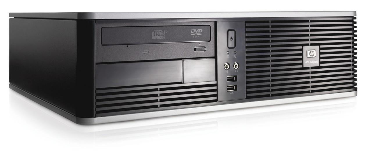 HP Compaq dc5750 SFF / AMD Athlon X2 4400 (2 ядра, 2.3GHz) / 4GB DDR2 / 250GB HDD / новая GeForce GT 730 1GB DDR3 (HDMI, DVI, VGA)