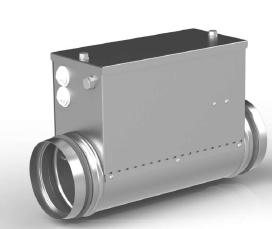 Воздухонагреватель канальный электрический ССК ТМ C-EVN-K - 160 - 3,0