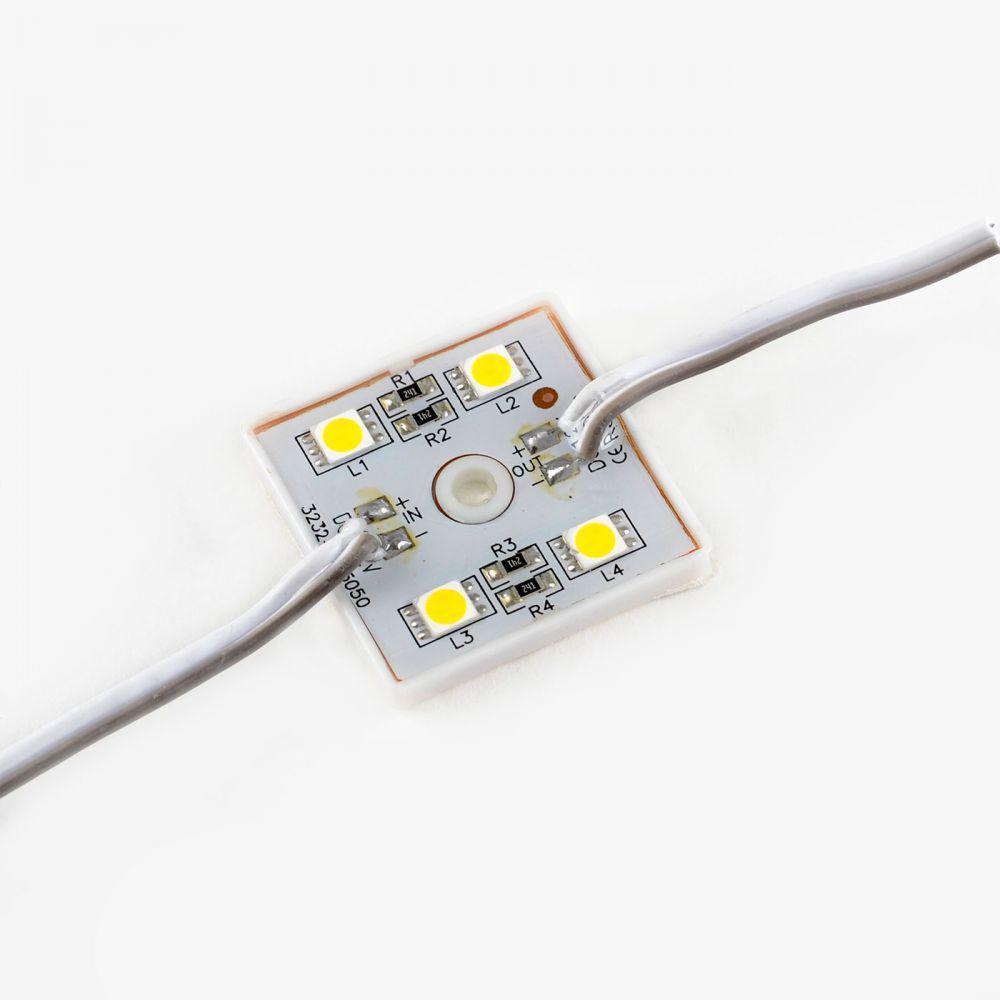 Светодиодный модуль VENOM SMD 5050 4 LED Холодно-белый