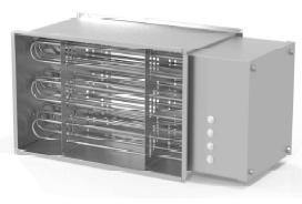 Воздухонагреватель канальный электрический ССК ТМ C-EVN-90-50-90