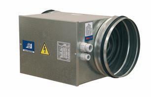 Воздухонагреватель канальный Вентс НК 125-1,2-1