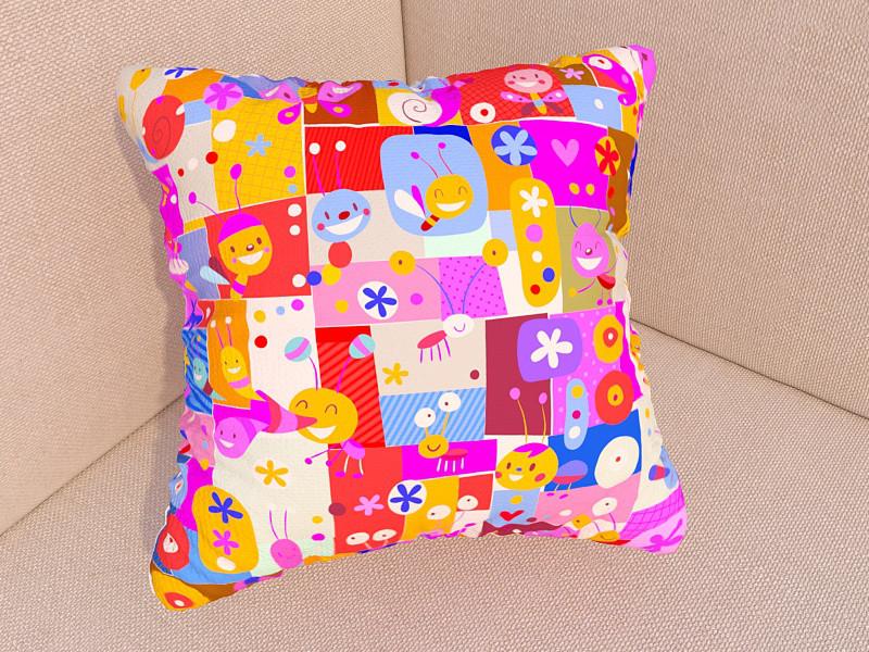 Фото подушки детские фигурки
