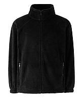 Детский тёплый флис на молнии Чёрный Full Zip Fleece Kids  62-511-36 7-8