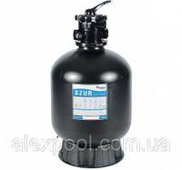 Фильтровальная емкость AZUR, 475 мм, 9 м3/ч 6-ходовой верхний клапан, 80 кг песка