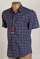 Рубашка мужская клетка Arma 1650 Размеры M/46 XL/50 XXL/52