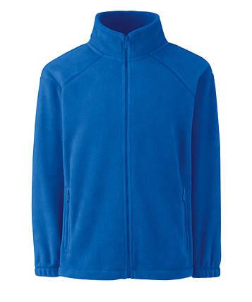 Детский тёплый флис на молнии Ярко-синий Full Zip Fleece Kids  62-511-51 5-6, фото 2