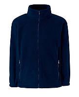 Детский тёплый флис на молнии Глубоко Тёмно -синий Full Zip Fleece Kids  62-511-AZ  7-8