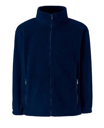 Детский тёплый флис на молнии Глубоко Тёмно -синий Full Zip Fleece Kids  62-511-AZ  9-11, фото 2