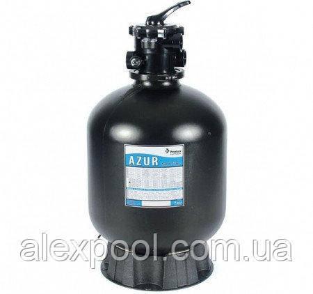 Фильтровальная емкость AZUR, 560 мм, 12 м3/ч 6-ходовой верхний клапан, 140 кг песка