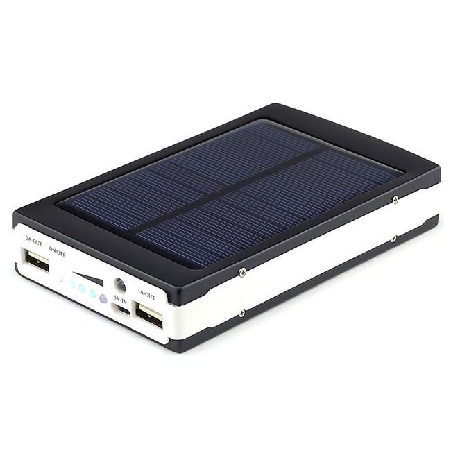 Зарядное устройство на солнечной батарее «Power Bank SOLAR 25000 mAh»