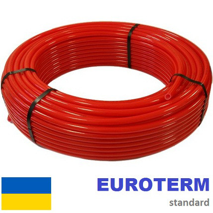 Труба для теплого пола Euroterm 16х2,0 с кислородным барьером.