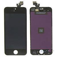 Дисплей (экран) для телефона Apple iPhone 5 + Touchscreen Original Black