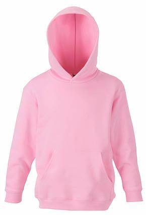 a6a28c04 Детская премиум толстовка с капюшоном Светло-розовая Fruit Of The Loom 62- 037-