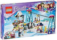 Конструктор LEGO Friends Горнолыжный курорт: подъёмник 585 деталей Лего 41324