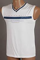 Футболка безрукавка мужская Tomnixx 4006 белый Размеры M L XL XXL