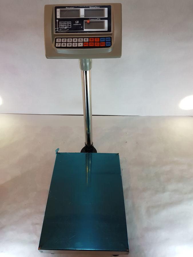 Весы товарные напольные электронные на 100 кг.
