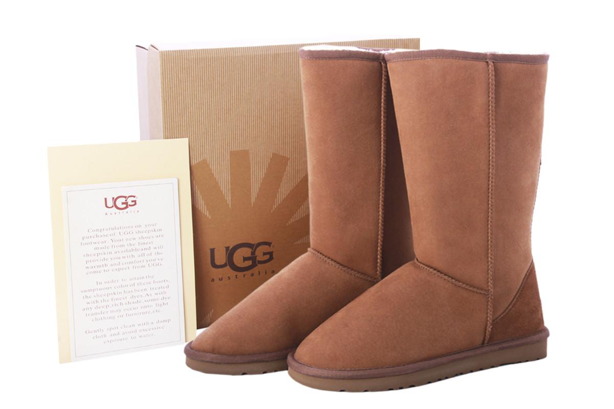 Угги UGG Classic Tall Коричневого цвета