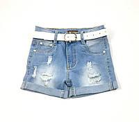 Джинсовые шорты для девочки Resser 1430 (р.3.4.6.7 лет)