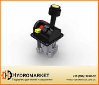 Пневматическая система управления джойстик Joystick TP Трехпозиционный (кран подъема кузова)