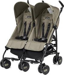 Детская прогулочная коляска для двойни Peg-Perego Pliko Mini Twin Class