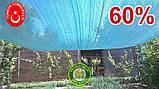 Сетка затеняющая, маскировочная РУЛОН 4*100метров 60% Турция, фото 5