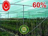 Сетка затеняющая, маскировочная РУЛОН 4*100метров 60% Турция, фото 7