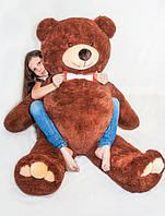 Плюшевий ведмедик Mister Medved Бурий 160 см, фото 1
