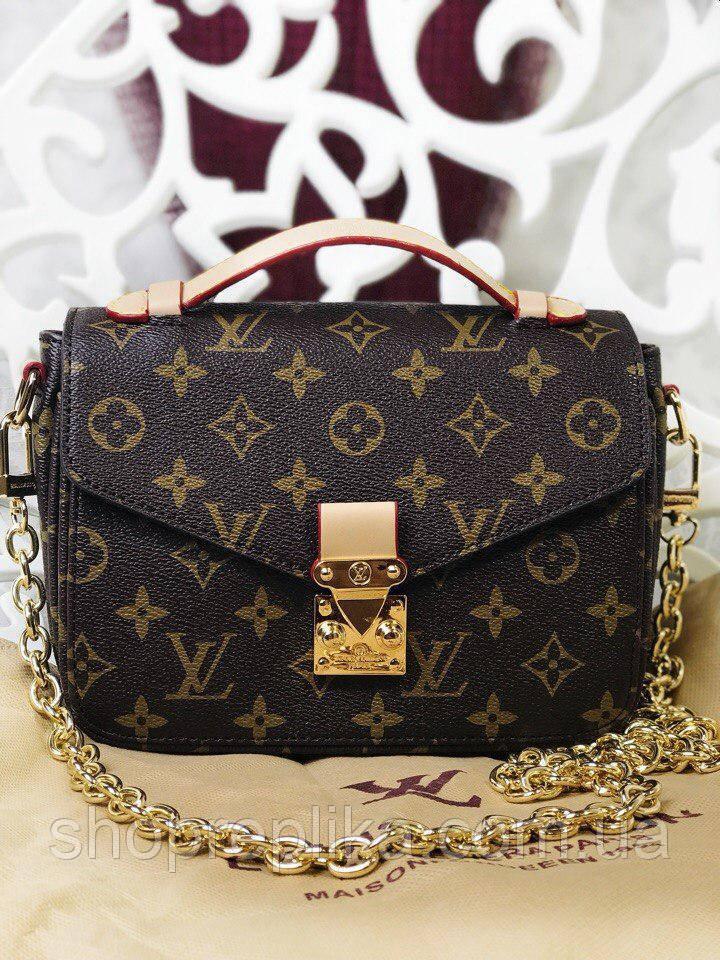 27116ee70818 Сумка Louis Vuitton Pochette Metis White Monogram Луи Витон копия ...