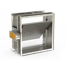 Клапан огнезадерживающий Веза КПУ-2-О-Н-250х250-2*ф-МП220