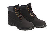 Ботинки Тимберленд Мужские Зимние Черные