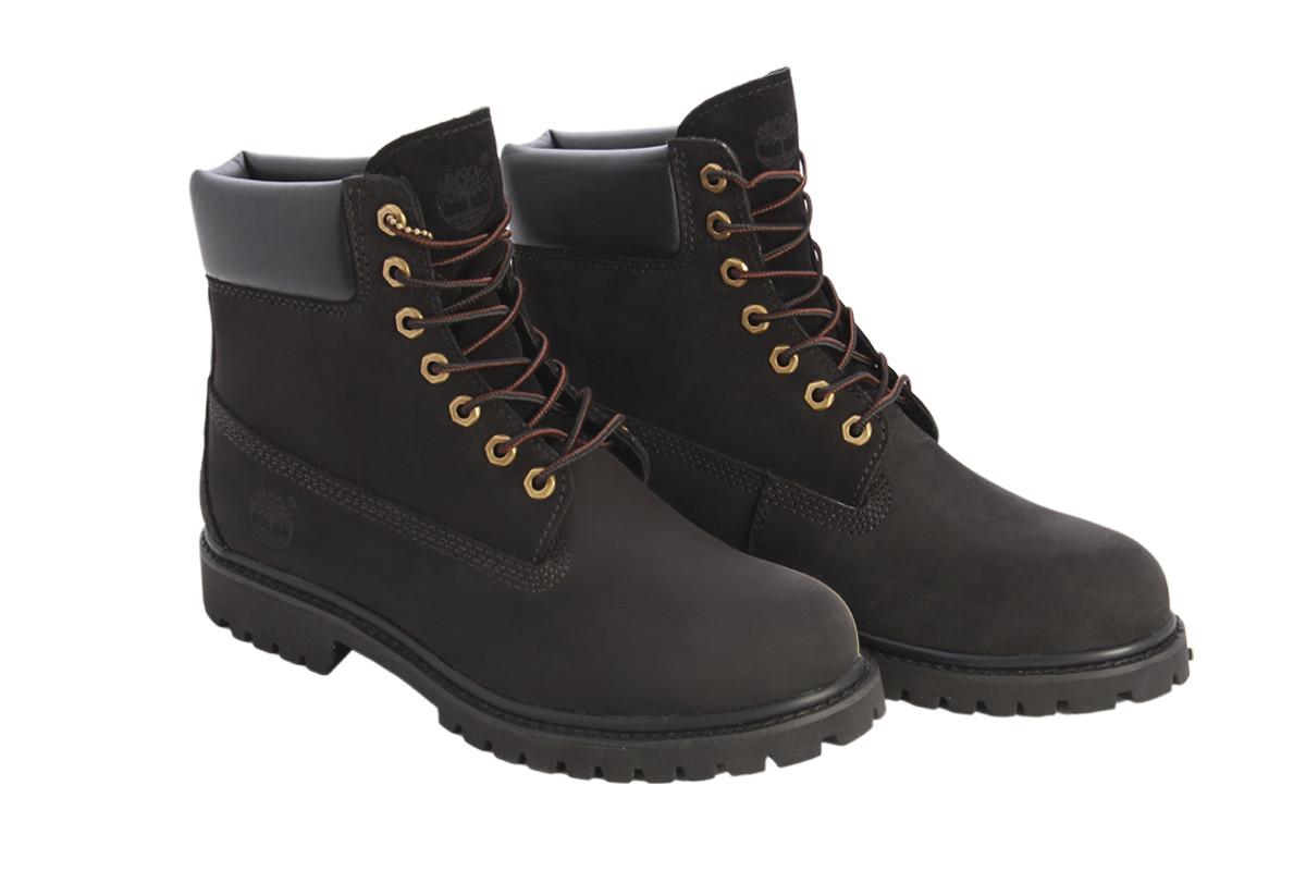 Ботинки Тимберленд Мужские Зимние Черные на меху - Интернет магазин обуви «im-РоLLi» в Киеве