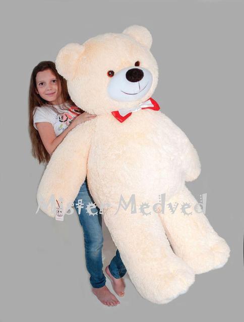 Плюшевий ведмедик Mister Medved Кремовий 160 см