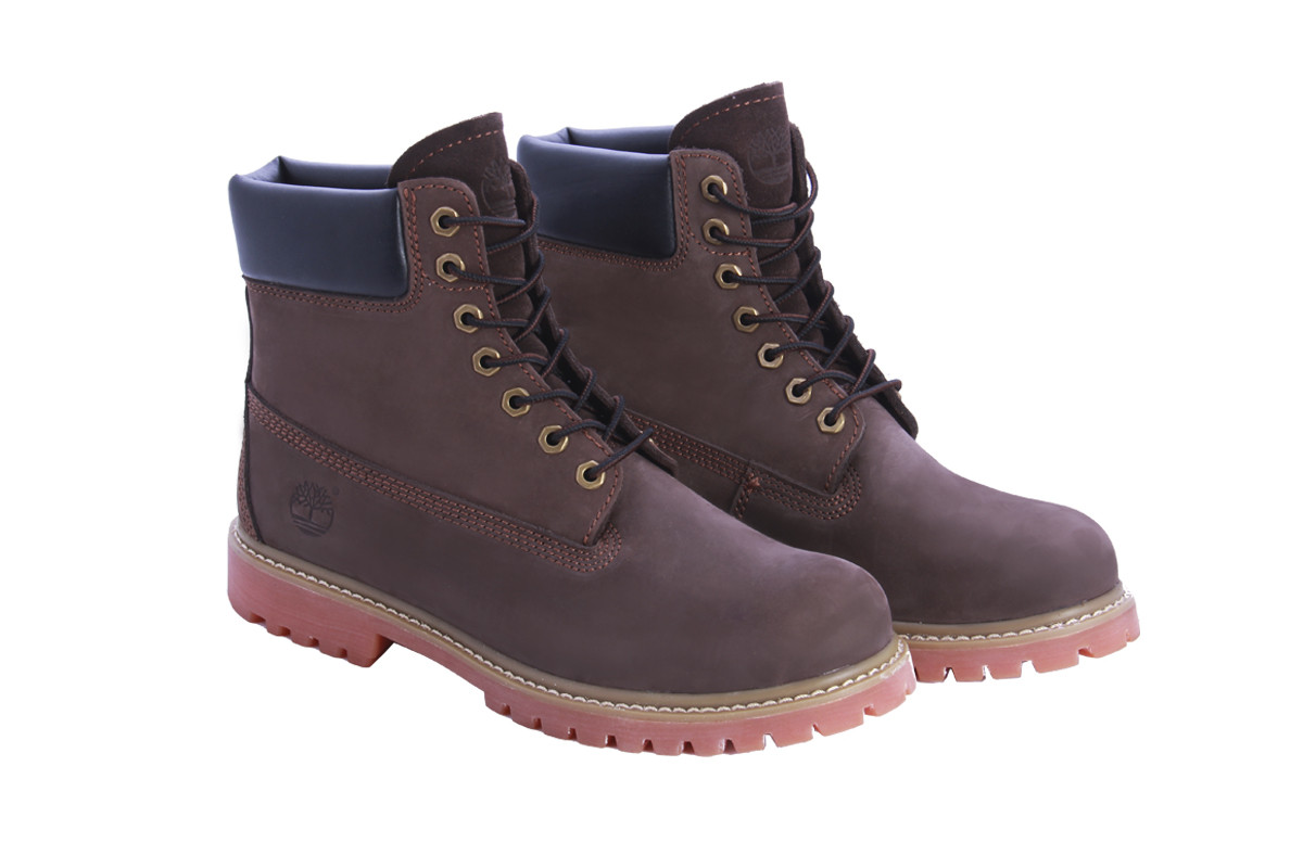 Мужские ботинки Timberland коричневого цвета