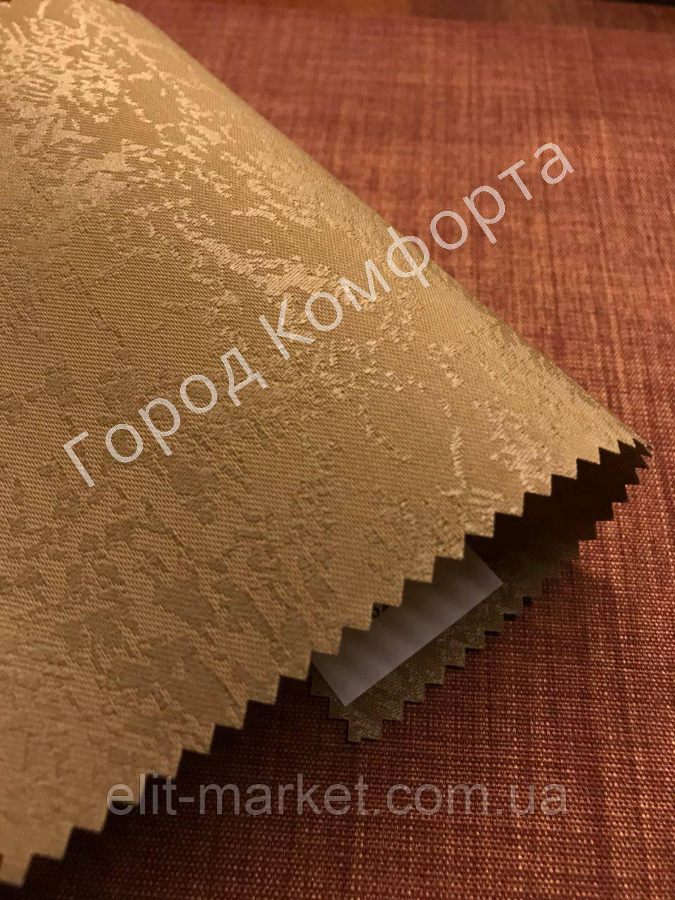 Рулонная штора Агат коричневая