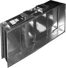Клапан огнезадерживающий Веза КПУ-2-О-Н-100х100-2*ф ЭМП220