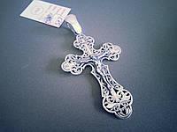 Большой Серебряный Крест Арт. Кр 75, фото 1