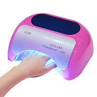 Ультрафиолетовая лед лампа для ногтей Beauty nail 18K 48W