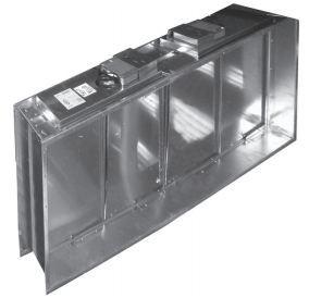 Клапан огнезадерживающий Веза КПУ-1Н-О-Н-150х150-2*ф ЭМП220