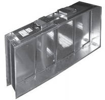 Клапан огнезадерживающий Веза КПУ-1Н-О-Н-500х500-2*ф ЭМП220